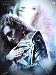 TLC Becky vs Asuka vs Charlotte by TODESIGNS7