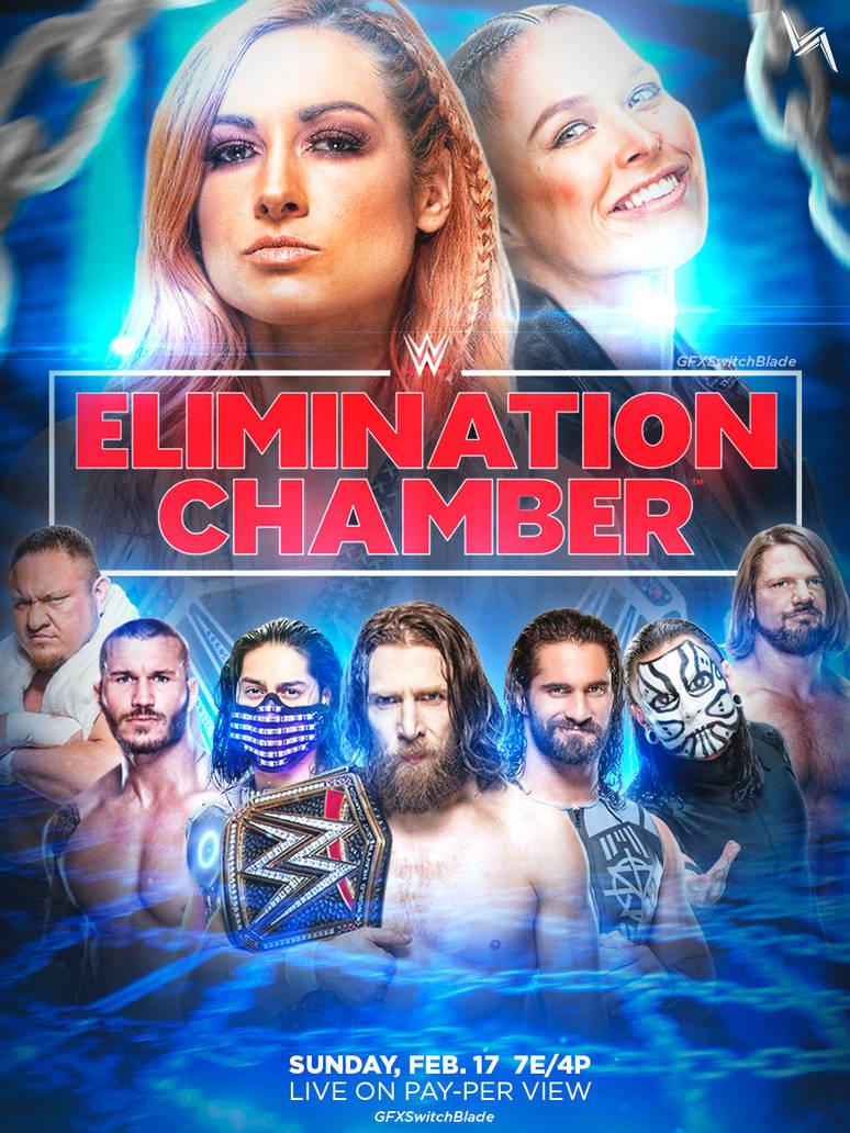 WWE Elimination Chamber (2019) PPV HDTV [720p-480p] English x264 AAC