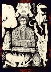 Austin Osman Spare 1908 by AntonChanning