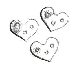 Love Hearts by eiah