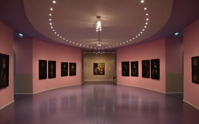 Interior Groninger Museum by Nilkes
