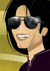 Michael Jackson by nicoletaionescu
