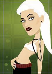 Gwen Stefani by nicoletaionescu