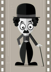 Charlie Chaplin by nicoletaionescu