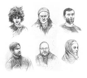 caucasus faces by kakao-bean