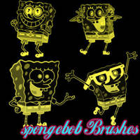 SpongeBob Brushes by remygraphics