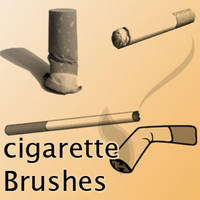 Cigarette Brushes by remygraphics