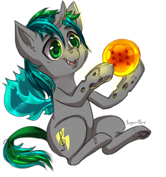 Dragonball Adoptable Thundernote by Trojan-Pony