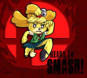 READY TO SMASH by Trojan-Pony