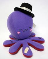 Cute purple custom octoplushie by jaynedanger
