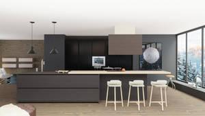 3D kitchen interior design by ishaansharma456