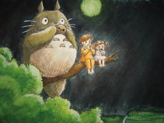 My Neighbor Totoro no 2 by loveandpeacetotoro