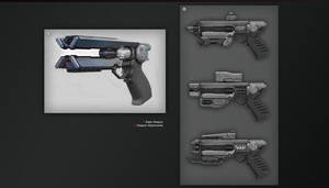 Charge Pistol Concept by CoolcatTerri