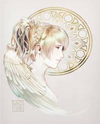 Lunafreya Nox Fleuret by WayTooEmily