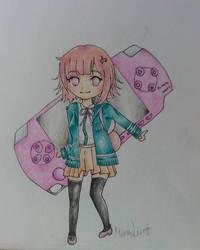 Nanami Chiaki Chibi by verinha260