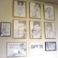 Anime Office Wall by cypher7