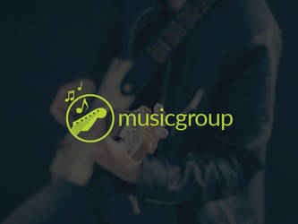 Music Group Logo Template by BlinVarfi