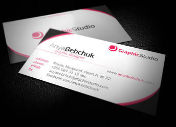 Simple Business Card by BlinVarfi