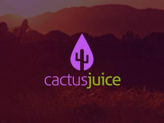 Cactus Juice Logo Template by BlinVarfi