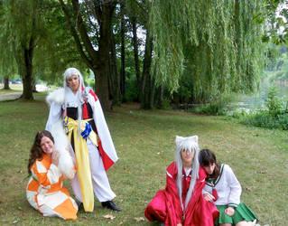 Inuyasha Cosplay Group by KuroKnightC2