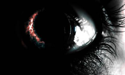 burning eye by tienes