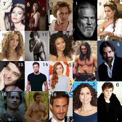 Greek Gods Movie Dream Cast by Katsa-Azurefyre