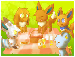 Picnic Time by ShootingStarEon