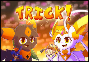 Trick! by ShootingStarEon