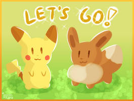 Let's go! by ShootingStarEon