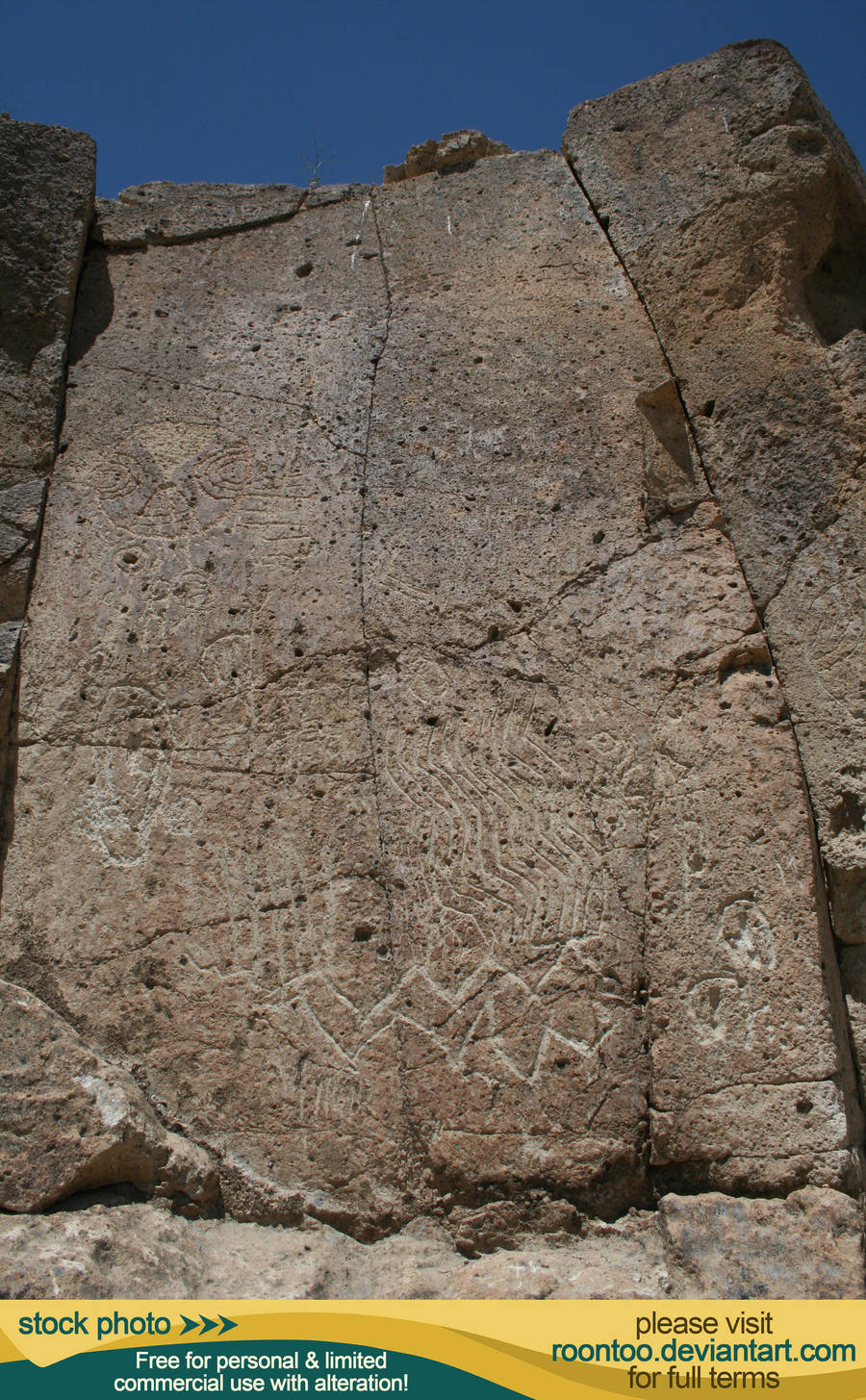 Petroglyphs 39 by RoonToo