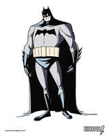 Batman Design - Coloured by ultrapaul