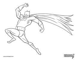 Batman Running by ultrapaul