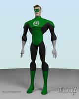 Green Lantern by ultrapaul