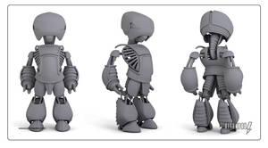 Machina Bot Model by ultrapaul
