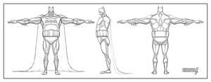 Batman Turnaround by ultrapaul