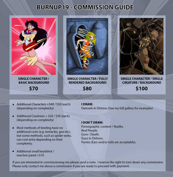 Commission Guide by burnup19