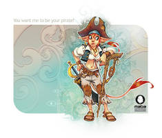 Be your pirate... by MabaProduct