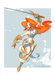 Red Sonja by MabaProduct