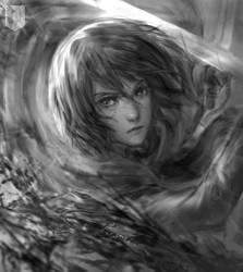 Fanart-Mikasa by chymkuno1
