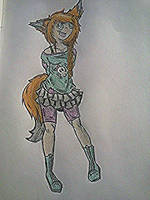 Nowta Rae Foxx Redesign by MADwithLOVE
