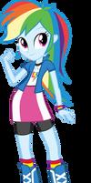 Equestria Girls: Rainbow Dash by DeathNyan