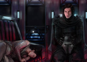 Reylo Commission for Isharan by DarthShizuka