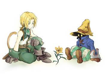 Yitan and Vivi by DarthShizuka