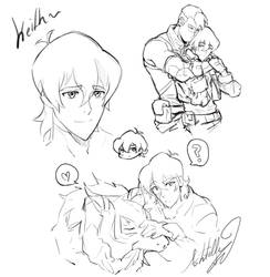 Keith doodles by DarthShizuka