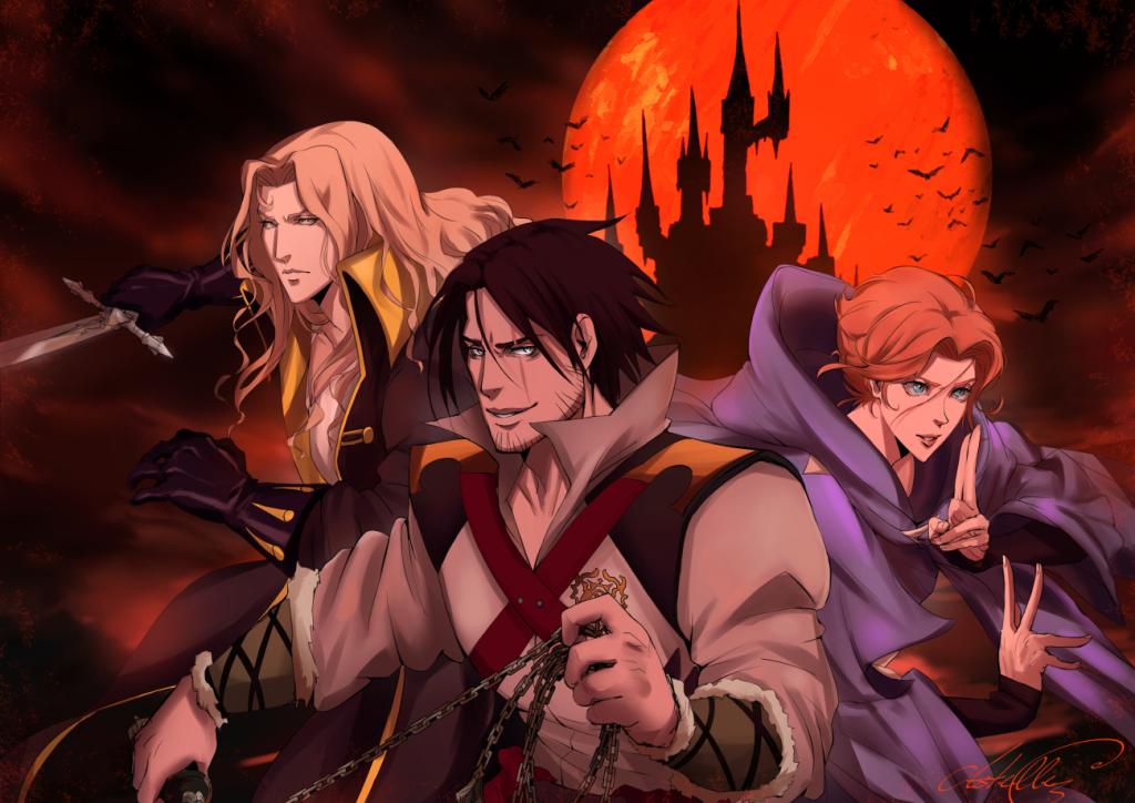 Castlevania by DarthShizuka