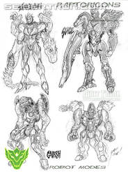 sneak peek of the raptoricons part 3 by MAXMEGA