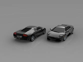 Black LP640 model by retoocs