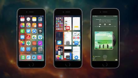iPhone 6 iOS 8.1.2 screenshot by retoocs