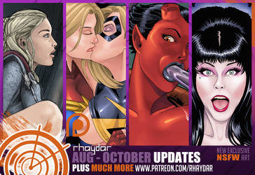 Patreon Aug-Oct Preview by rhaydar