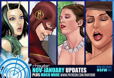Patreon November-January Preview by rhaydar